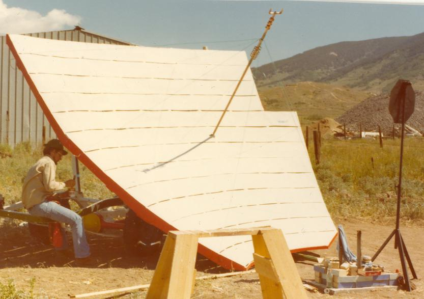 Large Solar Forge nearly complete from 1977
