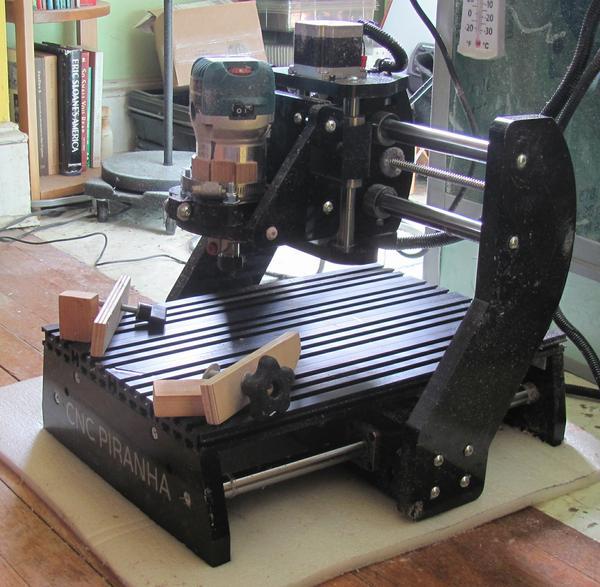 piranha cnc machine