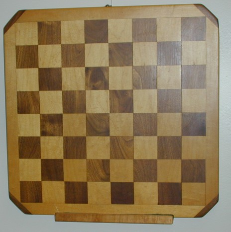 Wooden Chess Board with wall hanger photo 1