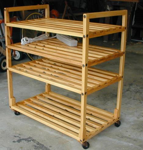 Potato and Onion Storage Bin - Grampa's Workshop - woodworking