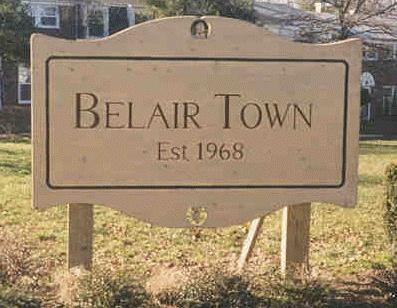 Belair Community sign