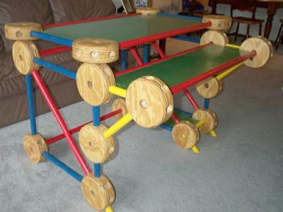 Tinker Toy Desk 1