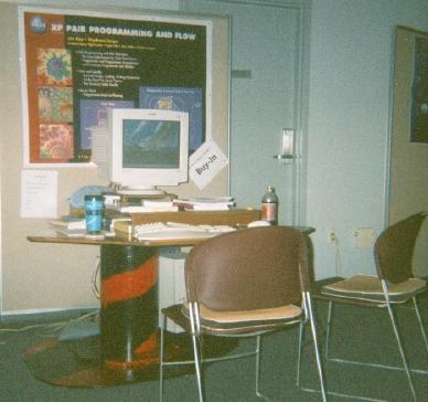 Extreme Programming Pair Desk 1