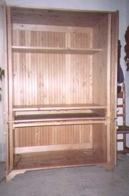 Wardrobe With Pocket Doors By Frank Gingrich