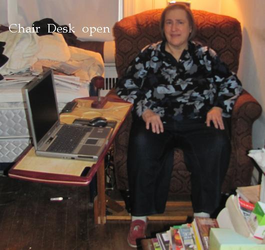 Chair Desk as built open