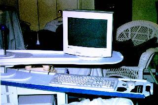 In-bed Computer Desk 2