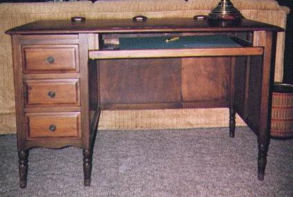 Woodware Rebuilt Desk - Old Wooden Desks Desk Design Ideas